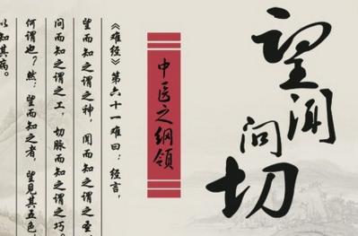 中医诊断四步法